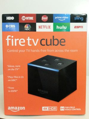 Fire TV Cube 4 K. HDR for Sale in Corona, CA