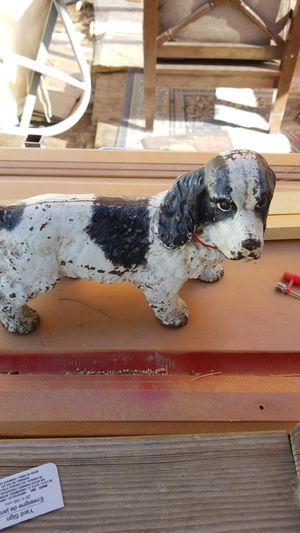 Cast iron dog door stop for Sale in Las Vegas, NV