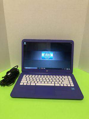 Hp Stream 14.6 inch Laptop , Wind 10, 4GB Ram, Webcam ,Intel CPU, Microsoft Office for Sale in Arlington, TX