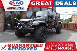 2016 Jeep Wrangler Unlimited for Sale in Leesburg, VA