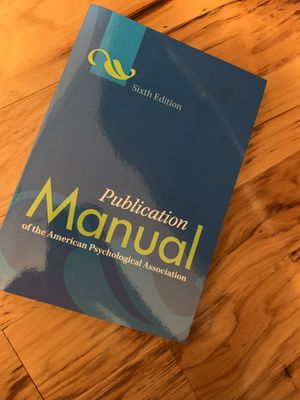 APA manual for Sale in Los Angeles, CA