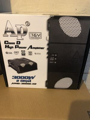 BRAND NEW -Audiopipe class D 3,000RMS @ 2 ohm for Sale in Tempe, AZ