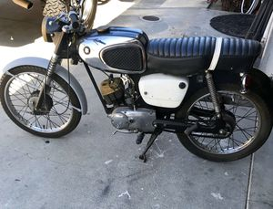 Rare 1965 Suzuki k11 motorcycle moped 80cc for Sale in Paramount, CA