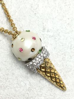 """Kate Spade """"carnival nights"""" ice cream pendant necklace FREE SHIPPING for Sale in Severn,  MD"""