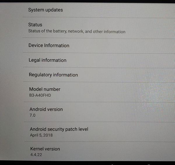 Acer Tablet