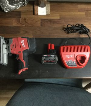 Milwaukee m12 jig saw for Sale in Los Angeles, CA