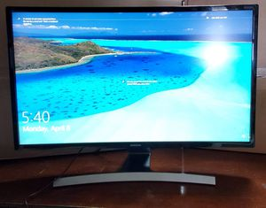 "SAMSUNG 27"" curved led -lit monitor DEMO for Sale in Miami, FL"