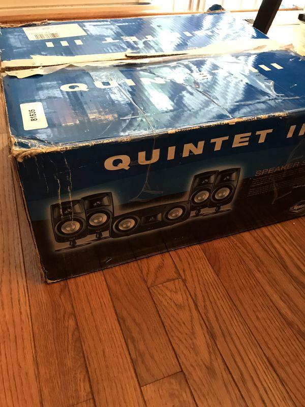 Klipsch Quintet III Speaker system surround sound 5.1