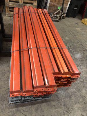 9ft heavy duty pallet rack beams for Sale in Miami, FL