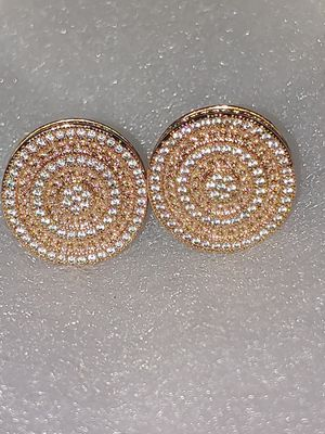 Rose gold diamond stud earrings for Sale in Tampa, FL