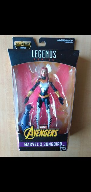2017 marvel legends marvels songbird action figure baf thanos sale or trade read description please for Sale in Stockton, CA
