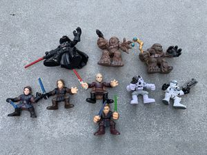 Star Wars playskool galactic heroes action figure toys for Sale in Camp Hill, PA