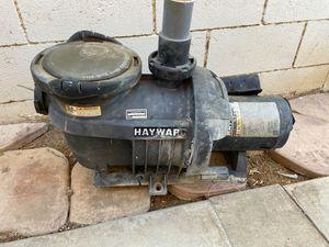 Hayward pool pump for Sale in Riverside, CA