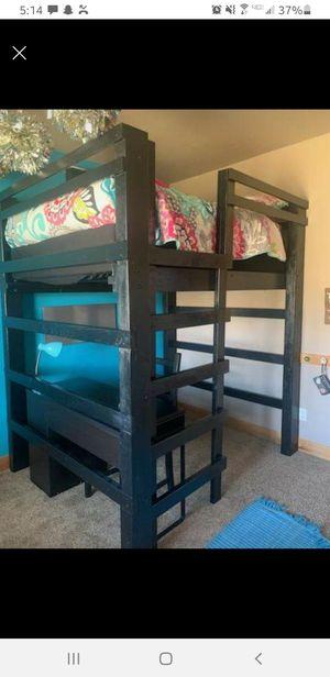 Loft bed, full size for Sale in Wenatchee, WA