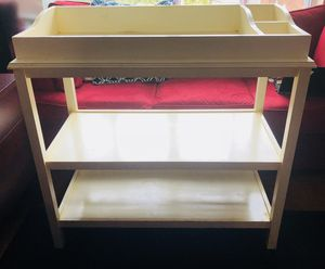 Solid wood changing table for Sale in Silver Spring, MD