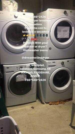 786*546*2426 Lavadora y secadora washer and dryer for Sale in Cutler Bay, FL