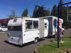 """Gutted food cart trailer project """"build to suit"""" for Sale in Portland, OR"""
