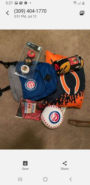 Chicago lot cubs bulls black hawks bears for Sale in Peoria, IL