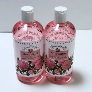 Crabtree & Evelyn Rosewater Bath & Shower Gel Two (2) Bottles 500 mL/16.9 oz. for Sale in Richmond, VA
