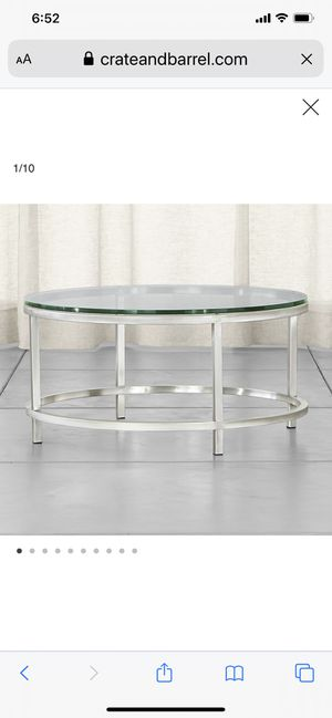 Crate and Barrel Era Table Collection for Sale in Columbus, OH