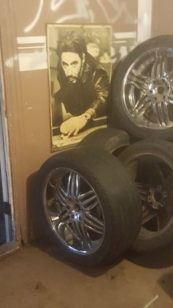 DURUN 22INCH RIMS AND TIRES for Sale in Killeen,  TX