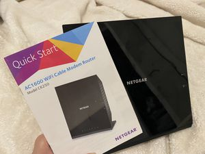 NETGEAR C6250 modem router for Sale in New York, NY
