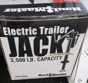 Trailer jack NEW, *ELECTRIC for Sale in Monroe Township, NJ