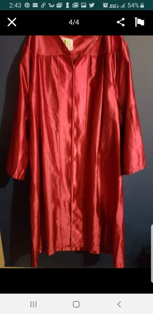 High school graduation gown Red for Sale in West Palm Beach, FL