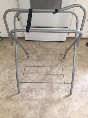 Folding saddle stand for Sale in Christiansburg, VA