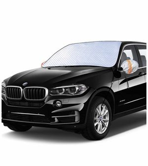 2020 Upgraded Windshield Snow Cover, Car Window Cover Ice and Snow Cover for Car with 4 Strong Magnets Edge & 4 Layer Material Protection, Large Size for Sale in Quitman, TX