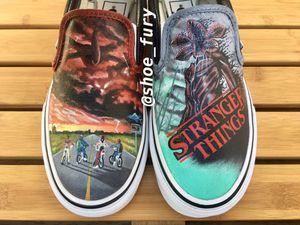 Custom Stranger Things Vans for Sale in Torrance, CA