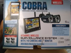 COBRA Surveillance system for Sale in Humble, TX