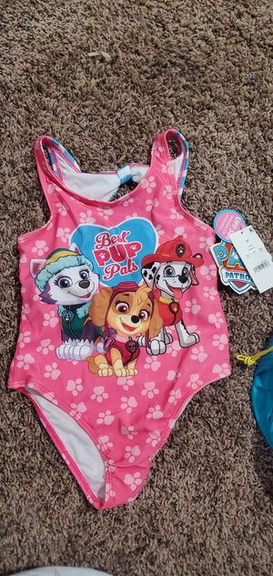 Paw patrol bathing suit size 4T for Sale in Fresno, CA