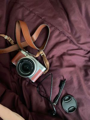 Fujifilm X-A5 24.2MP Digital Camera - Pink (Kit with XC15-45MM F3.5-5.6 OIS.... Condition is Used once for Sale in Webster, MA