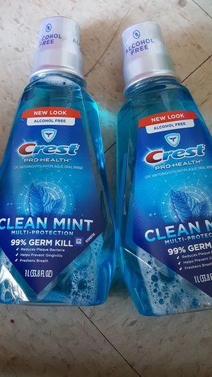 Crest Pro Health mouthwash big bottle for Sale in San Diego, CA