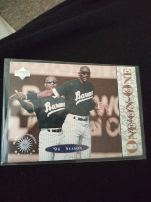 Mj rookie baseball and retirement card from nba for Sale in Wichita, KS
