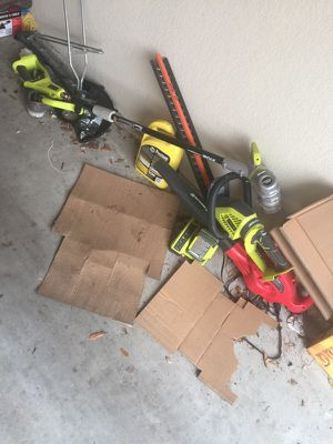 Leaf blower, bush trimmer, and weed eater for Sale in Pflugerville, TX