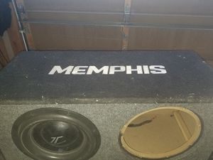Memphis subwoofers box for Sale in Fountain, CO