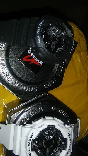 TWO G SHOCK WATCHES for Sale in Appleton, WI
