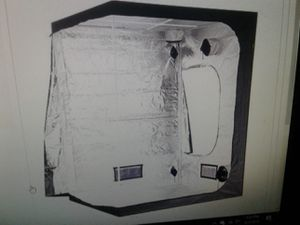Grow tent 6 x 6 x 8 New in box light rails , straps, water tray New New 99.99 for Sale in Phoenix, AZ
