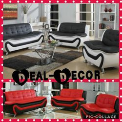 Leather 3 Piece Sofa Set for Sale in Atlanta,  GA