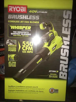 Ryobi blower for Sale in Seattle, WA