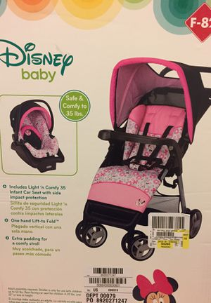 Disney baby Minnie Mouse travel system for Sale in Des Plaines, IL