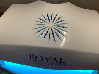 Royal Nails Professional 54 W UV Light Nail Polish & Acrylic Dryer Large Used one's Online price is $129 for Sale in Queens,  NY