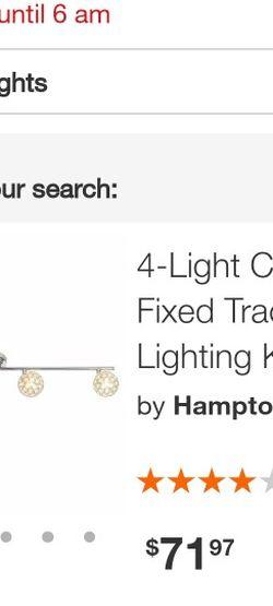 Hampton Bay 4 Light Hologen Track Light for Sale in La Mirada,  CA