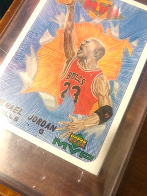 1999 Michael Jordan Upper Deck Draw Your Own Card W30. Chicago Bulls Mint Condition 10 for Sale in Washington, DC