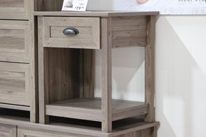 County Line Side Table/ Nightstand, Salt Oak # 417771 for Sale in Santa Fe Springs, CA