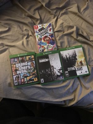 3 Xbox games 1 Nintendo Switch game for Sale in Stockton, CA