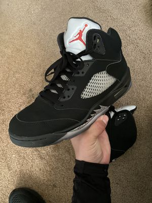 Air Jordan Retro 5 Black Metallic Size 10.5 for Sale in Los Angeles, CA