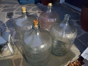 10 Five Gallon Vintage Glass Bottles, Craft Brewing, Water, etc for Sale in Fair Lawn, NJ